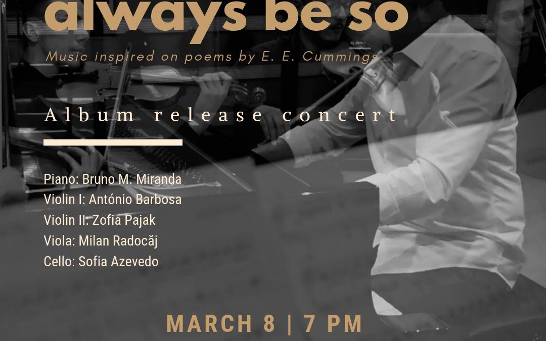 Album release concert